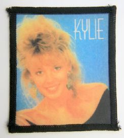 Kylie Minogue - 'Blue Background' Printed Patch